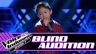Andrew - Oh! Darling | Blind Auditions | The Voice Kids Indonesia Season 3 GTV 2018