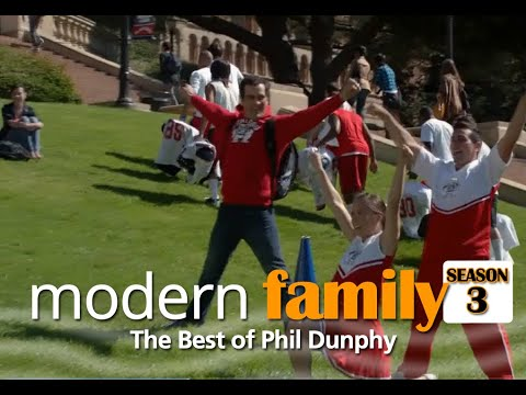 Modern Family - Best Phil Dunphy Moments + Bloopers (Season 3)