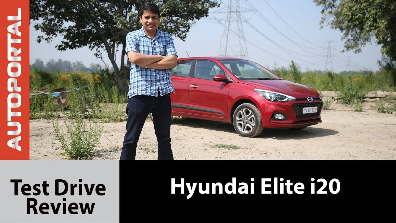 2018 Hyundai Elite i20 Test Drive Review – Autoportal