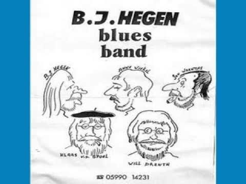 B J Hegen Bluesband - Door To Door  - 1988 - One Way Gall - MACHALIOTIS DIMITRIS