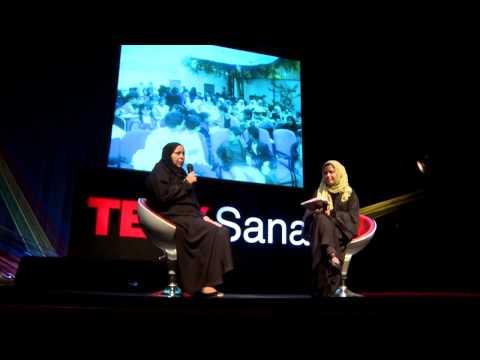 Interview with Mama Noriyah : Noriyah Naji at TEDxSanaa 2013