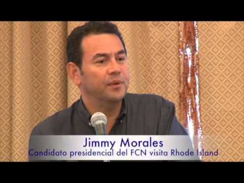 Colores Latinos TV: Discurso de Jimmy Morales a lideres de R