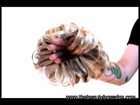 Vanessa Shows How To Use Fun Bun By Easihair To Make An