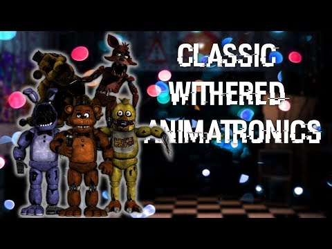 [FNAF | Speed Edit] Making Classic Withered Animatronics