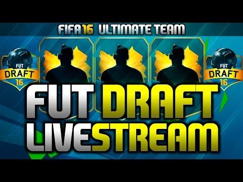 FUT DRAFT STREAM - WHO CARES ABOUT CHEMISTRY? (FIFA 16 Fut Draft Stream)
