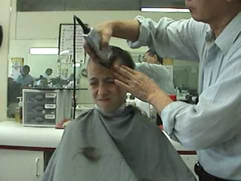 Getting His Head Shaved 33