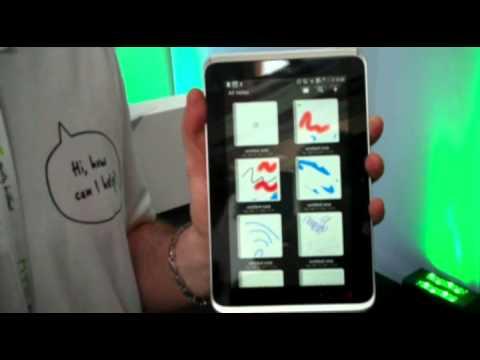 HTC Flyer auf dem Mobile World Congress