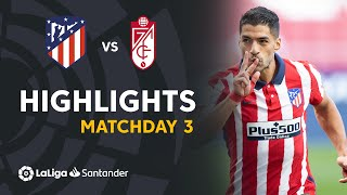 Highlights Atlético de Madrid vs Granada CF (6-1)