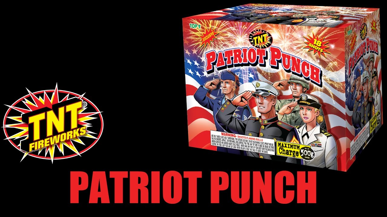 Patriot Punch - TNT Fireworks® Official Video