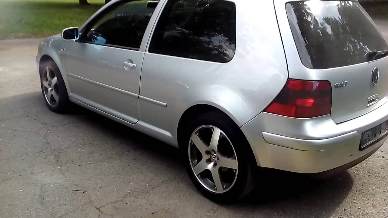 vw golf iv 1 9tdi sport edition mk youtube. Black Bedroom Furniture Sets. Home Design Ideas