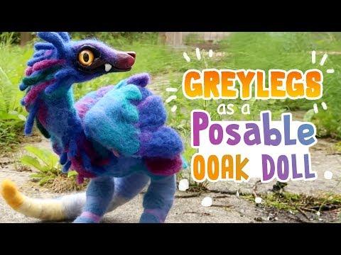 Greylegs as a Posable OOAK Doll