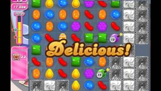 Candy Crush Saga Level 1466 (No booster, 3 Stars)