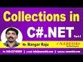 Collections in C# Part-1 | C#.NET Tutorial | Mr. Bangar Raju