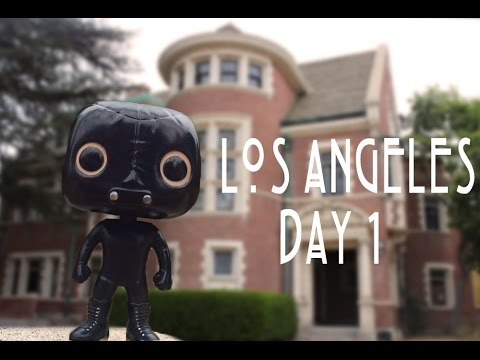 Los Angeles Day 1 Vlog (Murder House, Briarcliffe Manor, Sur Restaurant)