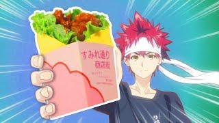 HOW TO MAKE Karaage Wrap from Food Wars!  Shokugeki no Soma  Feast of Fiction
