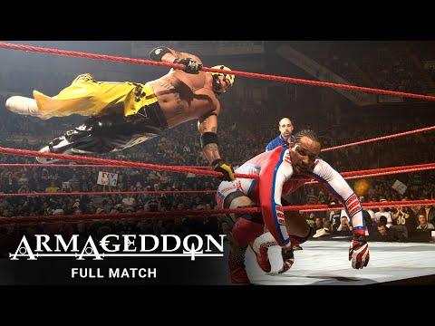 FULL MATCH - MVP vs. Rey Mysterio - United States Championship Match: WWE Armageddon 2007
