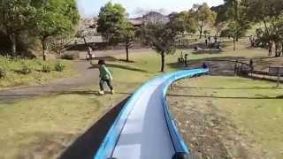 宮崎 久峰総合公園 滑り台!