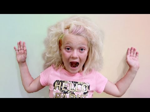 WHAT HAPPENED? | CRAZY HAIR DAY!