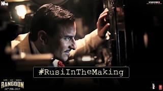 Rusi In The Making | Rangoon | Saif Ali Khan, Kangana Ranaut, Shahid Kapoor