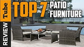 774f64826a9 Costco! AGIO 7 PC High Dinning Set with FIRE TABLE!  1299!!! - YouTube