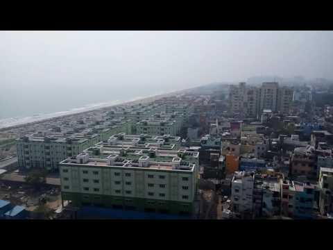 Chennai city view from light house