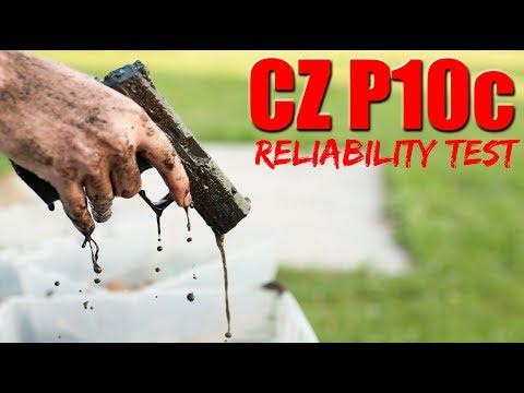 CZ P10c Reliability Test: Gauntlet FAIL?
