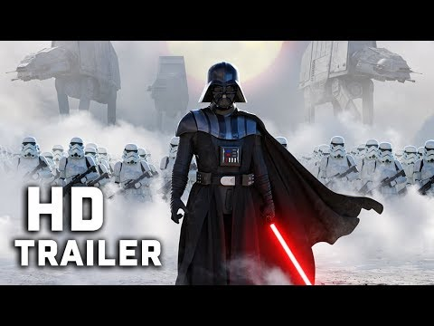 Darth Vader Fall Of The Jedi Trailer Concept 2020 Star Wars Mashup Youtube