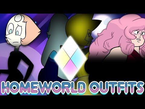 Pearl's Diamond HINTED In New Merch? Rose's Homeworld Uniform - Steven Universe News