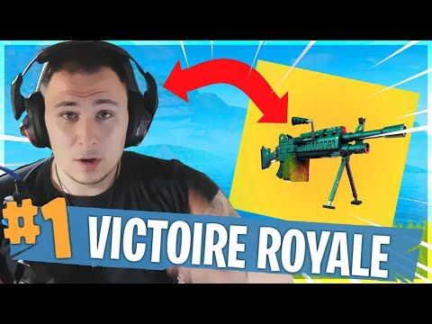 LA NOUVELLE MITRAILLEUSE EST GÉNIALE ! ► Fortnite: Battle Royale