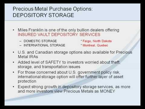 Precious Metals Investing-Myths & Realities