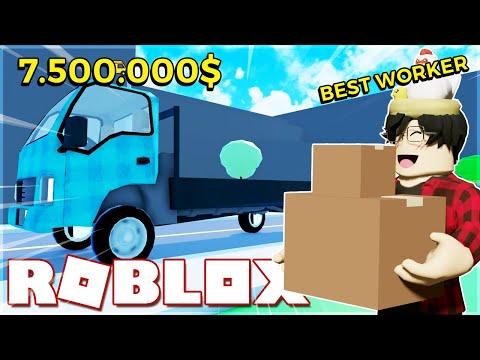 Roblox - Mình Thành Nhân Viên Xuất Sắc Đổi Xe 7 Triệu Đô Trong Delivery Simulator