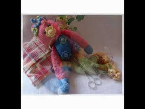 puppen stricken h keln lesezeichen blumen kinderlieder kochlied knit dolls youtube. Black Bedroom Furniture Sets. Home Design Ideas