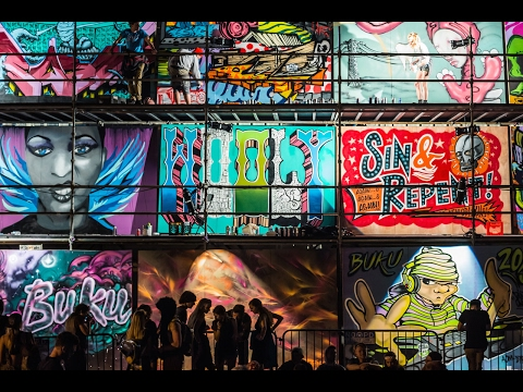 BUKU 2017 Live Graffiti Gallery Artists