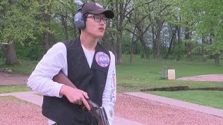 Holy Angels Exchange Student Shines In Clay Target Trapshooting