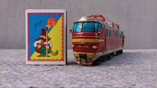 Урок . Как сделать локомотив  ЧС4 - 072  из пластилина!