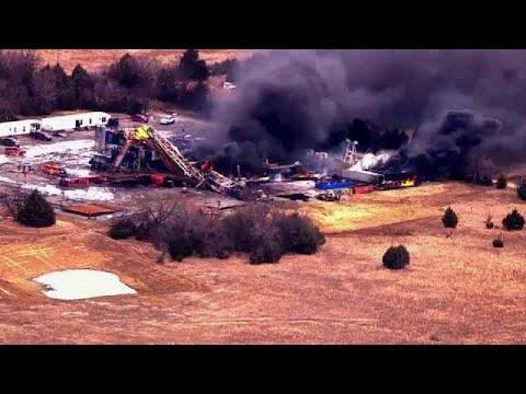 euronews (deutsch): Fünf Vermisste nach Gasexplosion auf Bohrstelle in Oklahoma