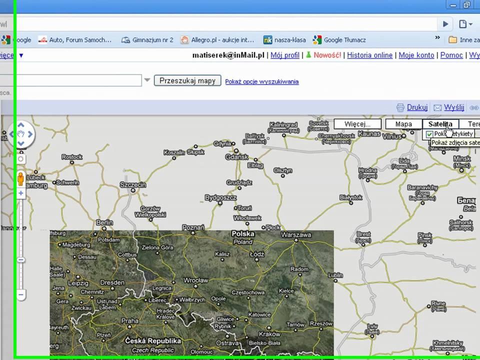 525d5f3aa680c7 Jak przeglądać zdjęcia satelitarne. - YouTube