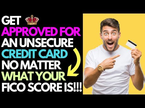 Get Approved For a Credit Card No Matter Your Credit Score! | Life Hack | Raise Your Credit Score!!!