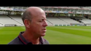 vuclip Steven Finn and Simon Hughes discuss how to intimidate batsmen