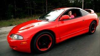 Тест драйв Mitsubishi Eclipse 200+ л.с.