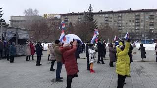 """Завершение фестиваля """"Крымская весна"""" в Новосибирске"""