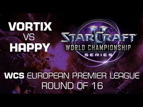 VortiX vs. Happy - Group B Ro16 - WCS European Premier League - StarCraft 2