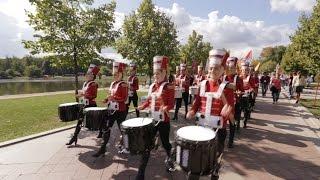 Армянские барабанщицы в Москве - Парк Царицыно