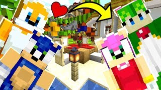 Minecraft Sonic The Hedgehog - Is Tails In Love With The New Girl?! [35]