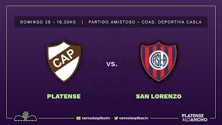 San Lorenzo - Platense   #VamosLasPibas   Fútbol femenino