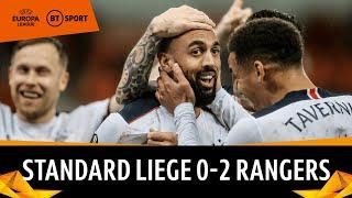 Standard Liege v Rangers (0-2) | Europa League Highlights