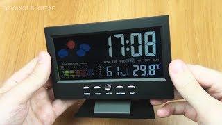 видео Часы, будильники и метеостанции