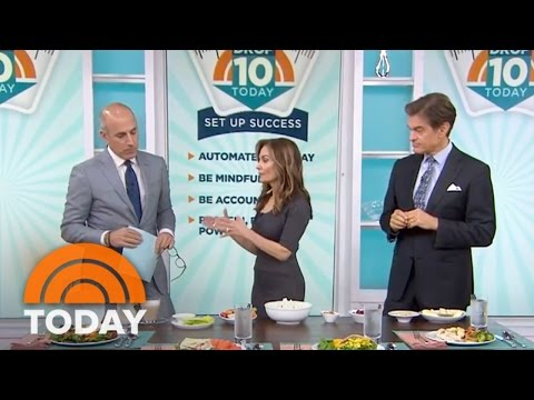 Drop 10 TODAY: Dr. Oz, Joy Bauer Reveal How To Eat Healthy At Lunch   TODAY