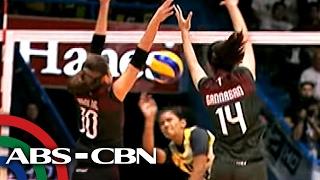 TV Patrol: UP Lady Maroons, nangunguna sa UAAP Women's Volleyball