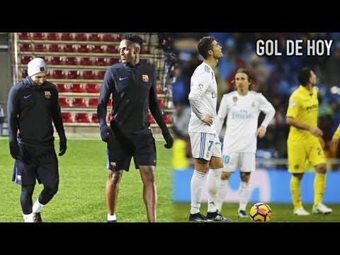 Yerry Mina entra en ambiente con Messi l El jugador del Madrid que tira la toalla tras perder
